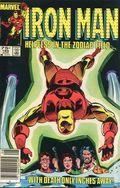 Iron Man (1968 1st Series) Canadian Price Variant 185