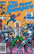 Avengers West Coast (1985) Canadian Price Variant 7
