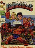 Los Cuatro Fantasticos (Mexican 1980-1982 Novedades) Fantastic Four 128