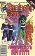 Fantastic Four (1961 1st Series) Canadian Price Variant 282