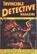 Invincible Detective Magazine (1949-1954 Invincible Press) Pulp 8