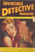 Invincible Detective Magazine (1949-1954 Invincible Press) Pulp 10