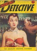 Invincible Detective Magazine (1949-1954 Invincible Press) Pulp 20