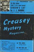 Creasey Mystery Magazine (1956-1965 Darlow Publishing) Pulp Vol. 8 #10
