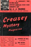 Creasey Mystery Magazine (1956-1965 Darlow Publishing) Pulp Vol. 8 #11