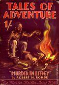 Master Thriller Series (1933-1939 World's Work) Pulp 16