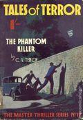 Master Thriller Series (1933-1939 World's Work) Pulp 18