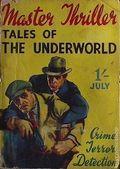 Master Thriller Series (1933-1939 World's Work) Pulp 27