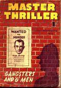 Master Thriller Series (1933-1939 World's Work) Pulp 31