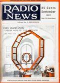 Radio News (1919-1948 Gernsback Publishing) Vol. 4 #3