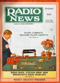 Radio News (1919-1948 Gernsback Publishing) Vol. 7 #1