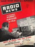 Radio News (1919-1948 Gernsback Publishing) Vol. 24 #1