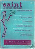 Saint Detective Magazine (1953-1967 King-Size) Pulp Vol. 4 #6