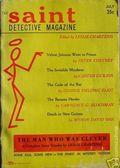 Saint Detective Magazine (1953-1967 King-Size) Pulp Vol. 6 #1