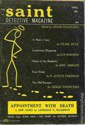 Saint Detective Magazine (1953-1967 King-Size) Pulp Vol. 9 #4