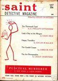 Saint Detective Magazine (1953-1967 King-Size) Pulp Vol. 9 #5