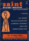 Saint Detective Magazine (1953-1967 King-Size) Pulp Vol. 18 #4