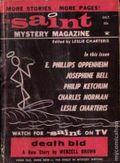Saint Detective Magazine (1953-1967 King-Size) Pulp Vol. 22 #6