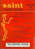 Saint Detective Magazine (1954-1966 King-Size) UK Reprints Vol. 4 #1