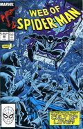 Web of Spider-Man (1985 1st Series) Mark Jewelers 40MJ