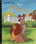 Disney Lady and the Tramp HC (1993 Golden Books) A Little Golden Book 1-REP