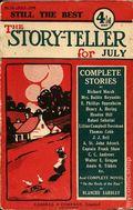 Story-teller, The (1907-1936 Amalgamated Press) Pulp 16