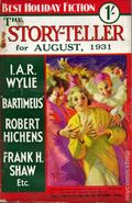Story-teller, The (1907-1936 Amalgamated Press) Pulp 292