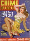 Crime Detective (1938-1953 1st Series) True Crime Magazine Vol. 3 #8