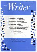 The Writer (1887-current The Writer, Inc) Magazine Vol. 87 #11