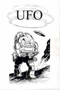 Exciting UFO Stories (1992 Fading Shadows) Fanzine 1
