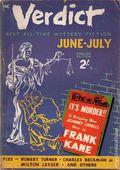 Verdict (1953 Flying Eagle Publications) UK Edition Vol. 1 #7