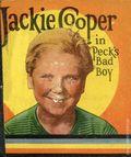 Jackie Cooper in Peck's Bad Boy (1934 Saalfield BLB) 1084