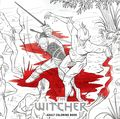 Witcher Adult Coloring Book SC (2017 Dark Horse) 1-REP