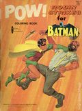 Pow! Robin Strikes Coloring Book SC (1966 National Periodical Publications Inc) 1833-3