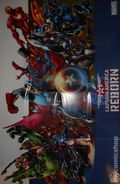 Captain America Reborn Poster (2009 Marvel) by Bryan Hitch ITEM #1