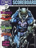 Comics Scoreboard (1990 Heroes World) Magazine 45
