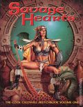 Savage Hearts SC (1997-2001 SQP) The Clyde Caldwell Sketchbook 1-1ST