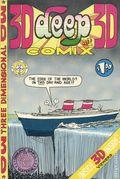 Deep 3-D Comix (1970) #1, 2nd Printing