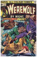 Werewolf by Night (1972 1st Series) UK Edition 24UK