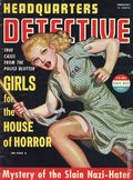 Headquarters Detective (1940) True Crime Magazine Vol. 1 #8