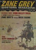 Zane Grey Western Magazine (1969-1974 Renown Publications) Pulp Vol. 3 #1