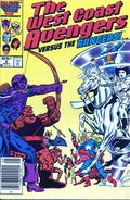 Avengers West Coast (1985) Canadian Price Variant 8