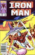 Iron Man (1968 1st Series) Canadian Price Variant 201