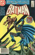 Detective Comics (1937 1st Series) Canadian Price Variant 540