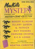 MacKill's Mystery Magazine (1952-1954 Todd Publishing) US Edition Vol. 1 #5