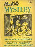 MacKill's Mystery Magazine (1952-1954 Todd Publishing) US Edition Vol. 2 #1