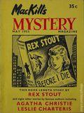 MacKill's Mystery Magazine (1952-1954 Todd Publishing) US Edition Vol. 2 #2