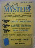 MacKill's Mystery Magazine (1952-1954 Todd Publishing) UK Edition Vol. 1 #2