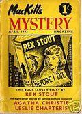 MacKill's Mystery Magazine (1952-1954 Todd Publishing) UK Edition Vol. 2 #2