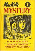 MacKill's Mystery Magazine (1952-1954 Todd Publishing) UK Edition Vol. 3 #6
